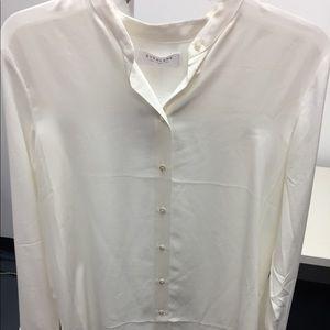 Everlane Silk Button Down Top